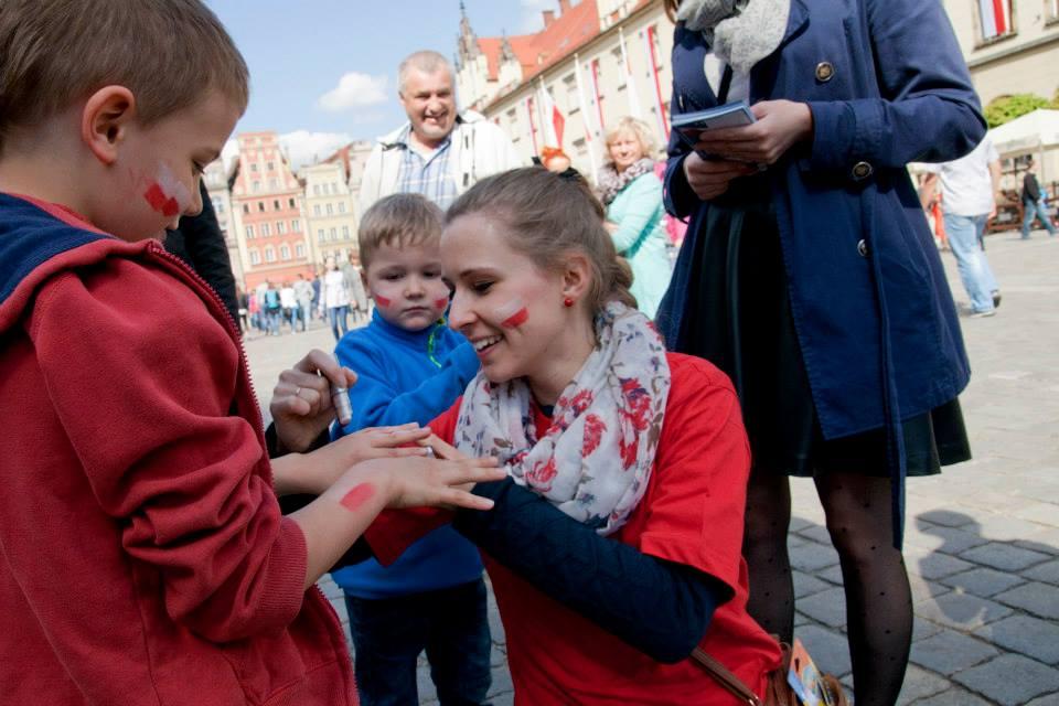 Święto Flagi Narodowej we Wrocławiu