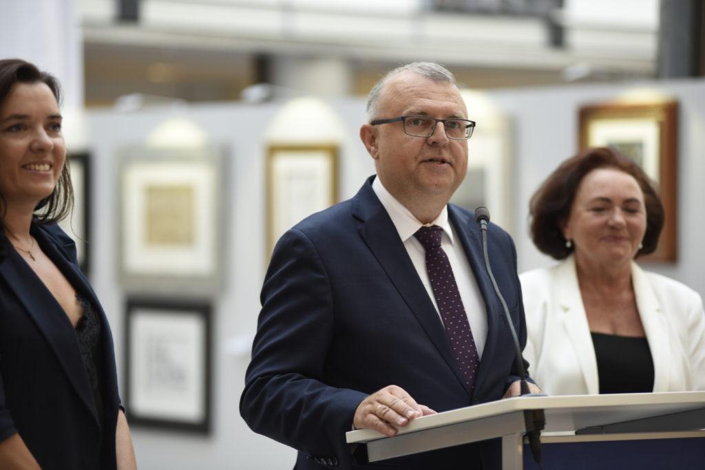 """Wystawa """"Polska sztuka w Parlamencie Europejskim"""""""