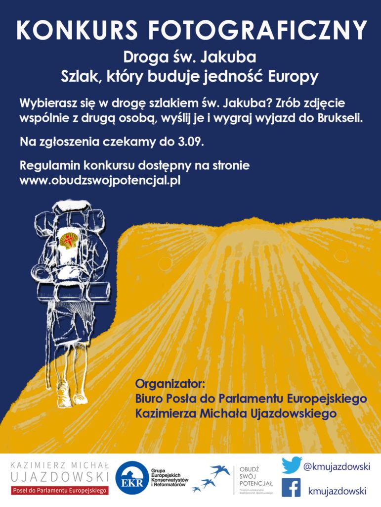 """Konkurs """"Droga św. Jakuba. Szlak, który buduje jedność Europy."""""""