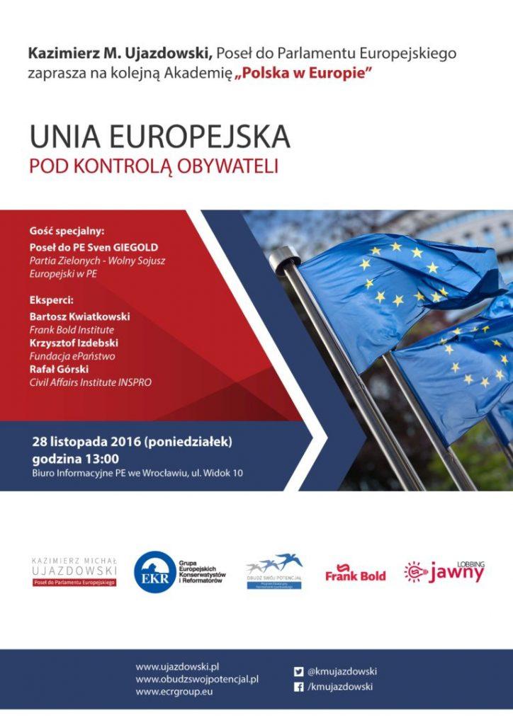 """Czwarta Akademia """"Polska w Europie"""""""